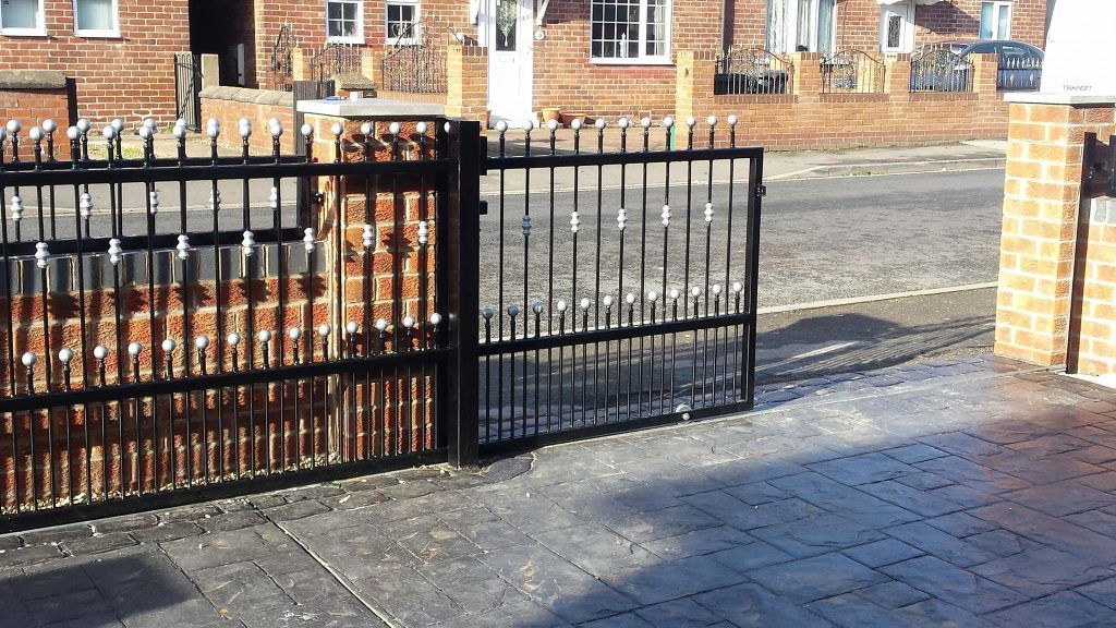 Sliding gate fabricated in Doncaster